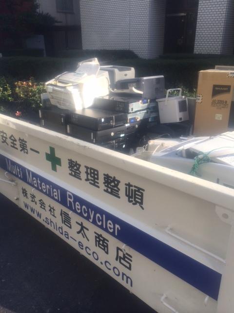 赤坂PC撤去