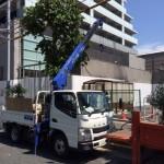 大田区駐輪場設備解体撤去