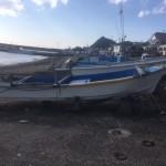 鴨川市和船解体撤去