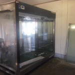 埼玉県久喜市業務用大型冷蔵ショーケース解体撤去