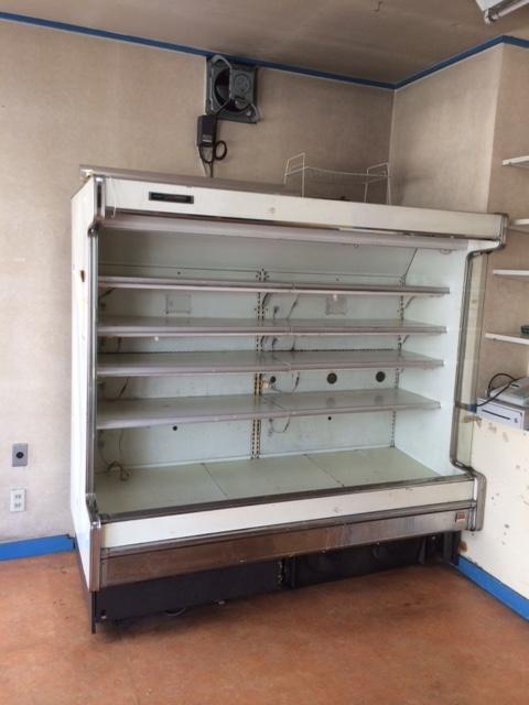 冷蔵ショーケースの処分