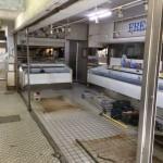 目黒区原町店舗一部解体と冷蔵設備撤去