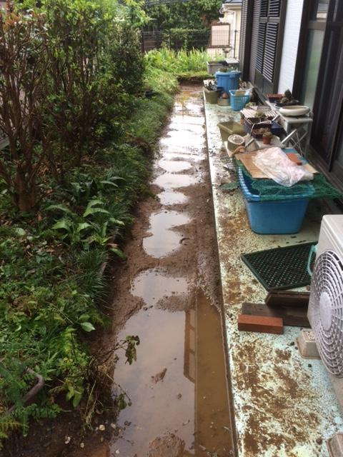 横浜市砂利撤去後