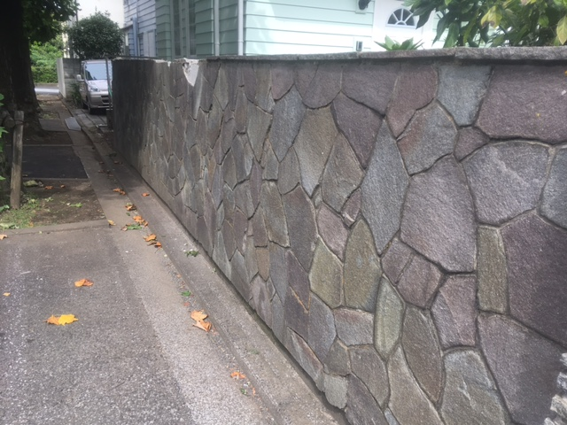 吉祥寺壁撤去作業前