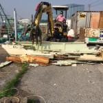 市川市漁船解体処分