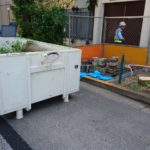 目黒区街路樹伐採作業