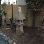 滋賀県への灯篭の移動