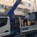 渋谷区代々木クマヒラ製防盗金庫搬出作業