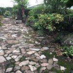 横浜市自然石、樹木伐採伐根、芝張り作業