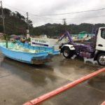千葉県南房総廃船解体撤去作業